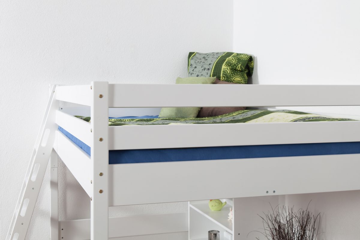 High Sleeper Bed Children S Bed Christoph Solid Beech