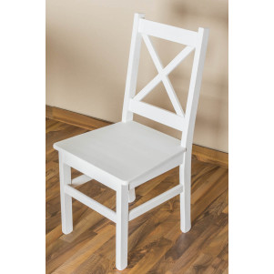 Chair solid, natural pine wood Junco 246- Dimensions 95 x 44 x 49 cm