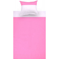 Children's Bedding 2 pieces - Color: Pink / White